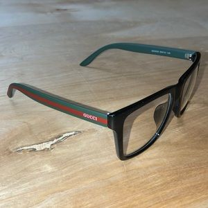 Gucci Eyeglasses Frames Italy GG3535 Green Red